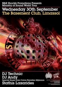 Ministry of Sound @ Club Basement - Limassol