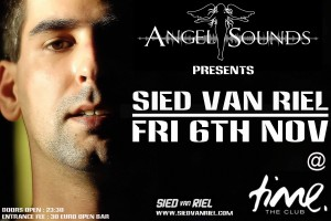 Angelsounds presents Sied Van Riel @ Time Club