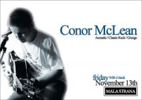 CONOR MCLEAN LIVE AT MALA STRANA