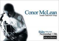 CONOR MCLEAN LIVE AT MALA STRANA