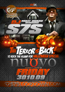 S7S Halloween Special at NUOVO