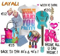 BACK TO The 80's & 90's with DJ JORDI combined with Drink All U Can Drink……