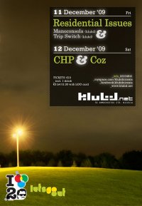 klubd | Residential Issues & CHP/Coz | 11&12 Dec