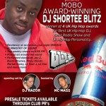 MOBO AWARD WINNING DJ - SHORTEE BLITZ - EXCLUSIVELY @ CLUB TEEZ - WED 24TH