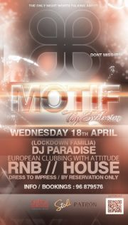 MOTIF 18 APRIL @ Toy Exclusive (Nicosia)