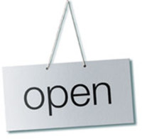 open-sign-simple
