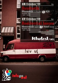 klubd   Synthetik & Residential Issues   16/17 Oct 2009